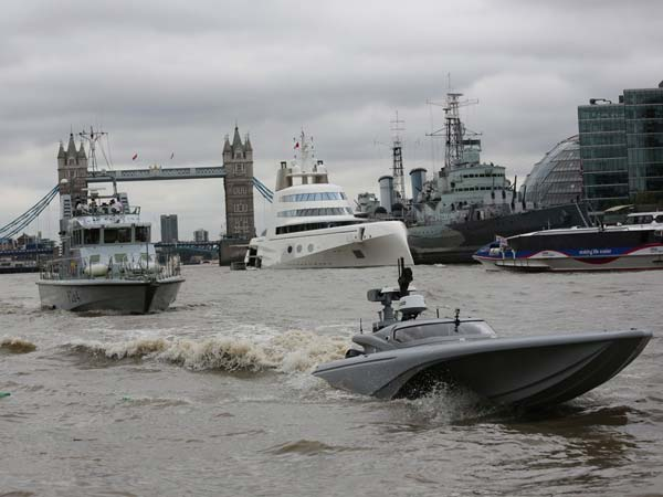Bladerunner — Royal Navy Tests Out Batman's Drone Boat