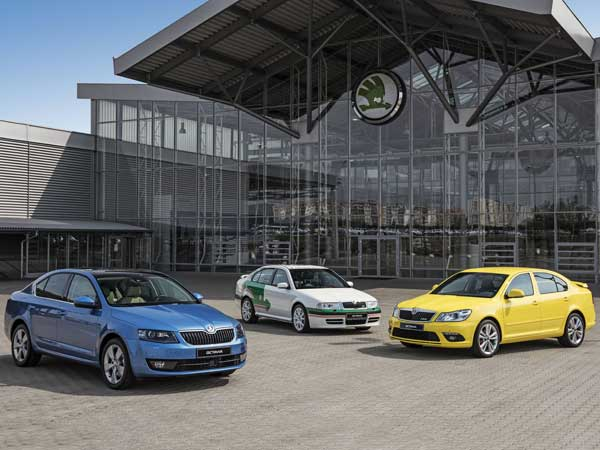 Skoda Octavia Has Been In Continuous Production For 20 Years