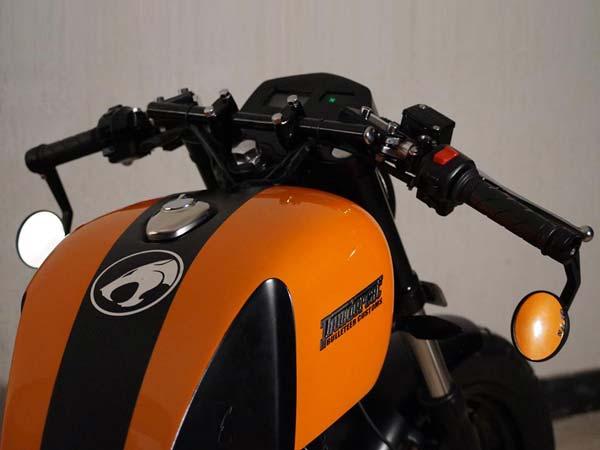 Royal Enfield Thundercat Custom Motorcycle By Bulleteer