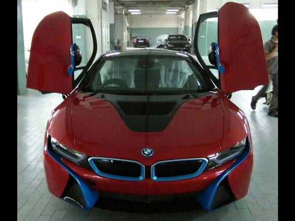 Sachin's BMW i8 Gets A Cosmetic Update