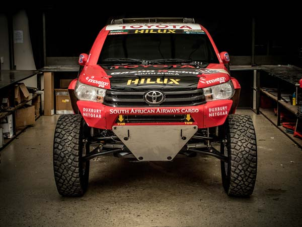 Toyota Unveils 2017 Dakar Rally Machine