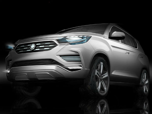 Ssangyong Teases LIV-2 SUV Ahead Of 2016 Paris Motor Show Debut