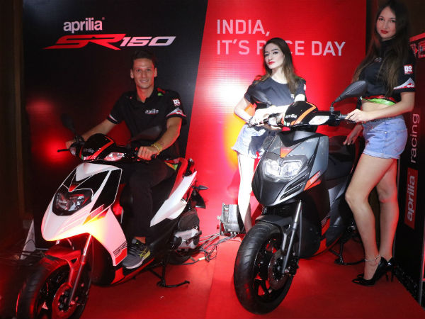 Deliveries Of Aprilia SR150 Commences In Six Indian Cities