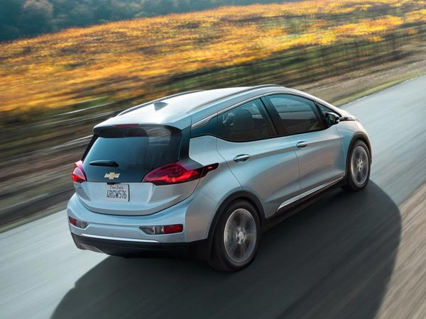Chevrolet Bolt To Have 383Km Of Range