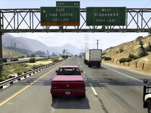 Autonomous Cars Using GTA V To Learn To Drive