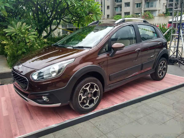 Fiat Showcases The Urban Cross Abarth Variant In Bangalore