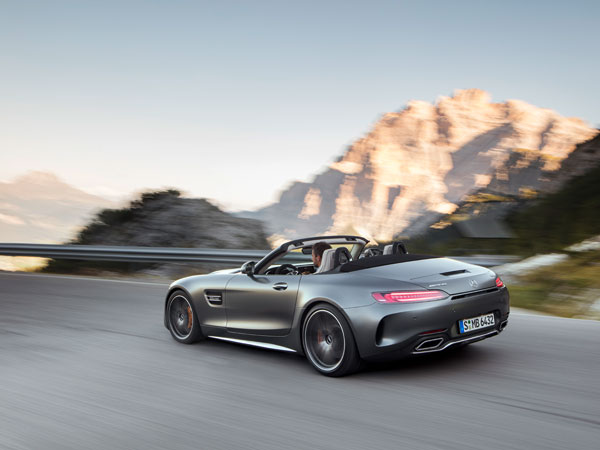 AMG GT Roadster Unveiled