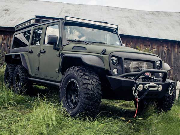 Finally A 6x6 Version Of Jeep Wrangler Lands In China