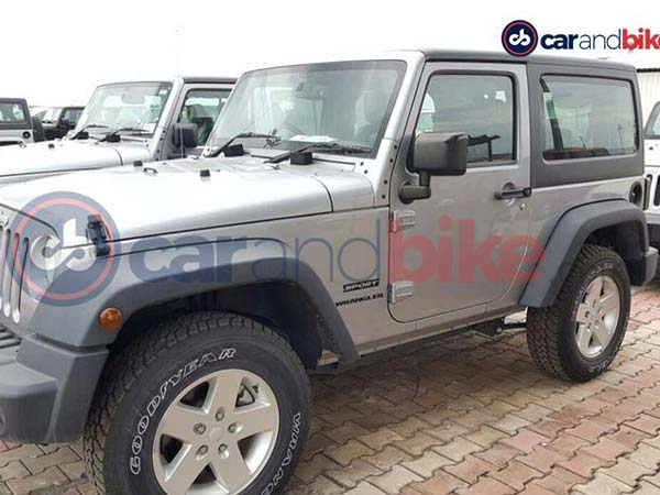 Spotted: 3-Door Version Of Jeep Wrangler In India