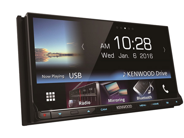 Kenwood's Luxury Multimedia Audio System Launched