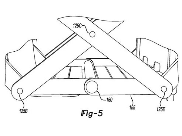 Folding Vehicle Patent Goes To Ford