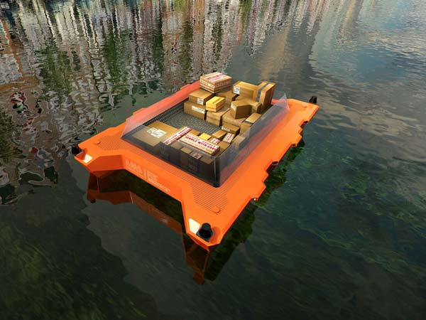 Self-Driving Technology To Hit Water Canals — Self-Driven Boat To Be Tested In Amsterdam
