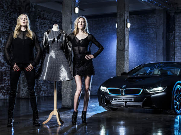 Designers Unveiled Carbon Dress Inspired By The BMW i