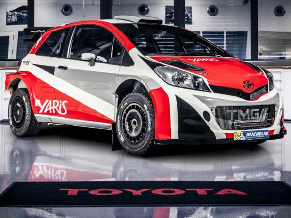 Toyota Selects All Finland Lineup For WRC 2017