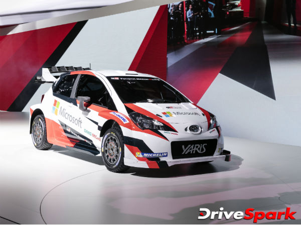 2016 Paris Motor Show: Toyota Reveals The 2017 WRC Car — The Fastest Yaris Is Here!