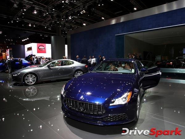 2016 Paris Motor Show: Maserati Unveils Updated Ghibli & Quattroporte Saloons