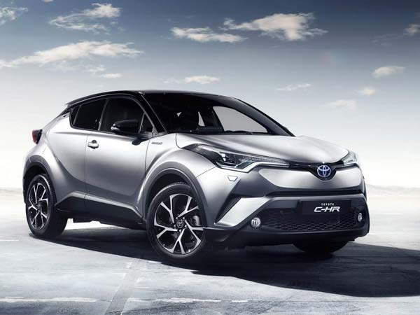 2017 Toyota C-HR Japanese Specifications Revealed