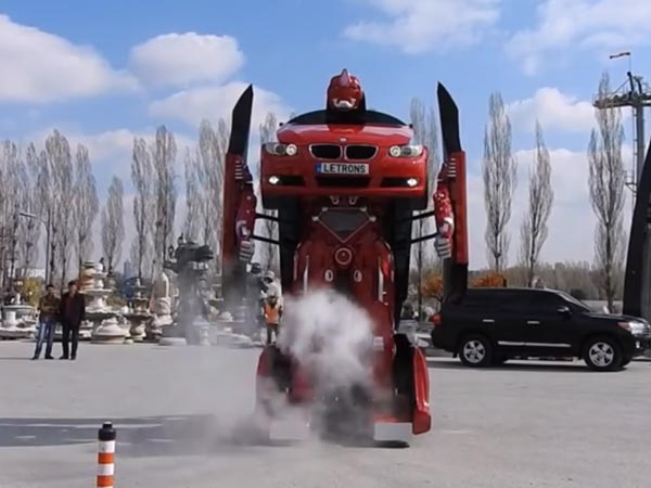 Ever Seen Real Life Transformer? Then You Should Watch This!