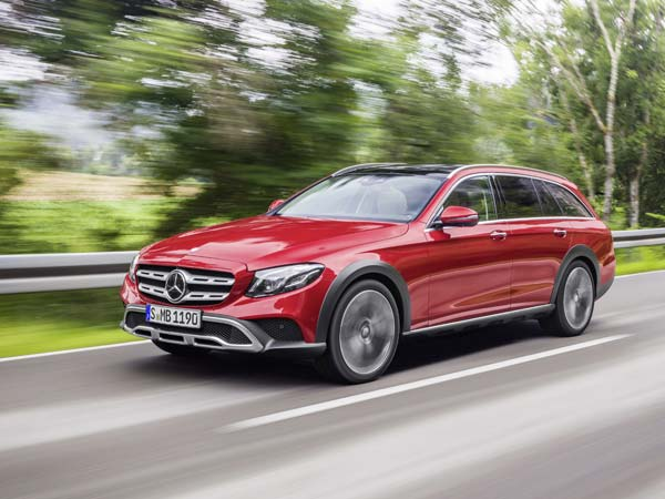 Mercedes Reveals E-Class All Terrain Estate