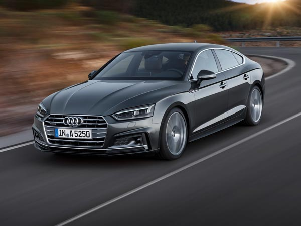 Audi Imports 2017 A5 and S5 Sportback To India