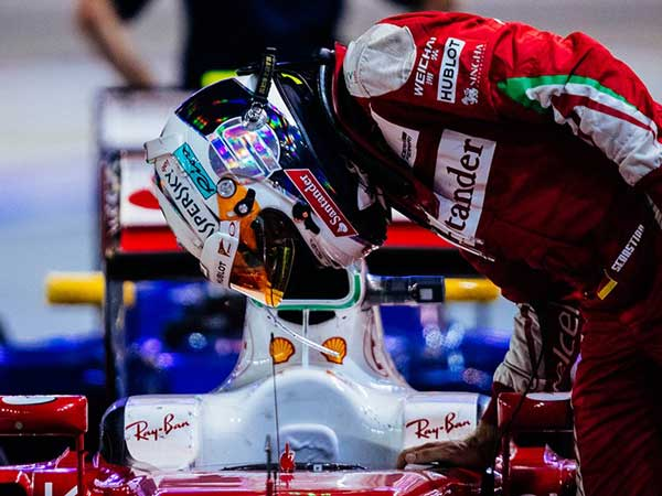 Vettel's Confidence Increases As Ferrari Plan Update