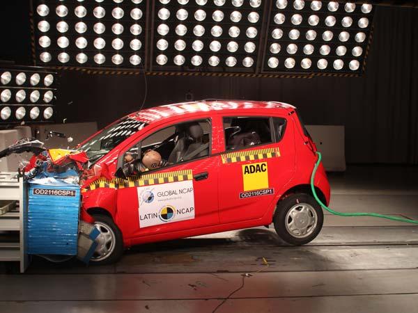 India Made Chevrolet Beat Fails Latin NCAP Tests; Scores ...