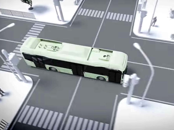 Volvo Buses Are Smart Enough To Detect Pedestrians And Cyclists