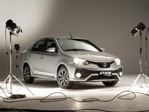 Toyota Platinum Etios Launched In Bangalore
