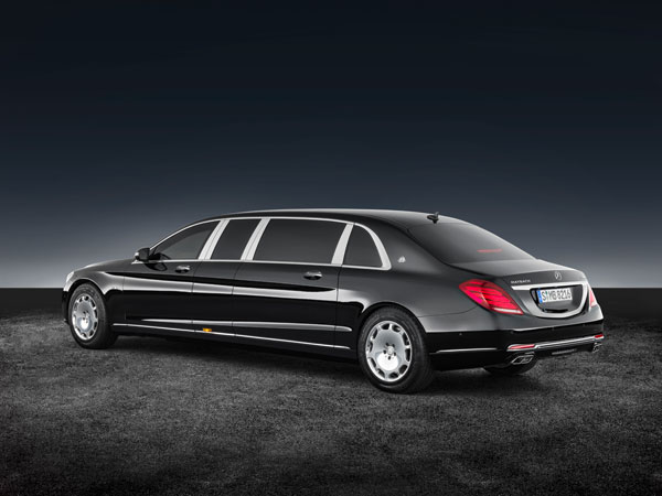Mercedes Maybach S600 Pullman Guard Unveiled