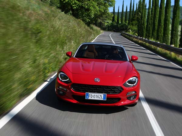 2017 Fiat 124 Spider America Breaks Cover Ahead Of Paris Motor Show