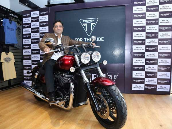 Triumph Motorcycles Expands Dealership Network — Opens New Showroom In Vijayawada