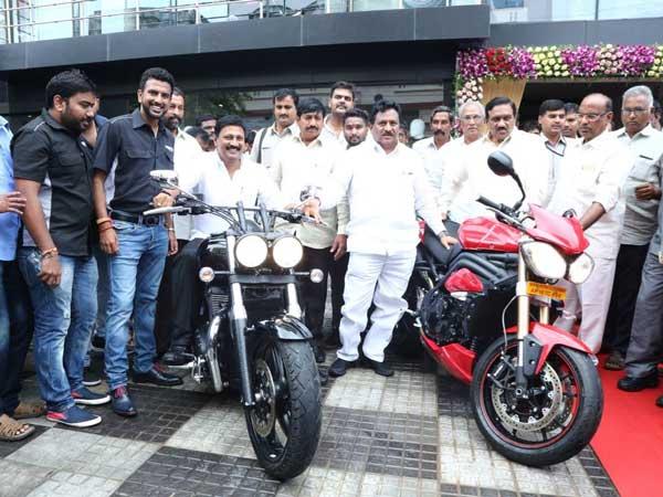 Triumph Opens Dealership In Vijayawada Drivespark News
