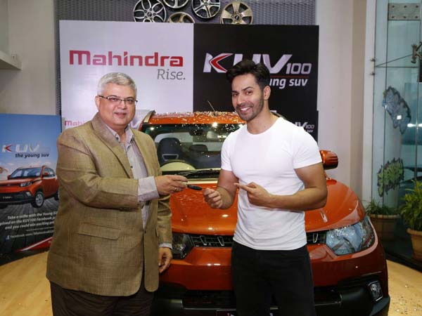 Varun Dhawan Is Gifted An All-New Mini SUV