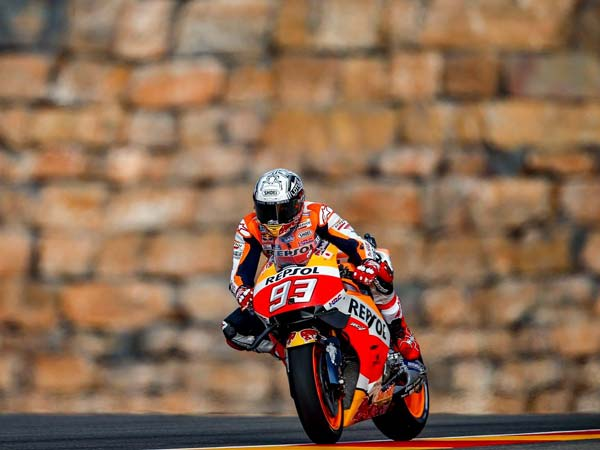 Marc Marquez Fastest In Aragon FP3 Session