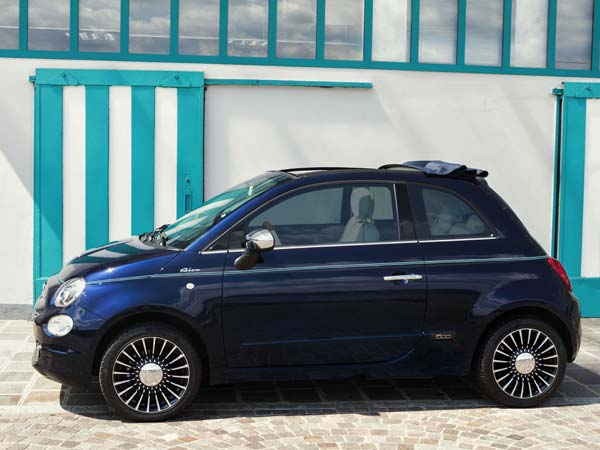 Fiat 500 And Riva Yacht — Perfect Combination On Four Wheels