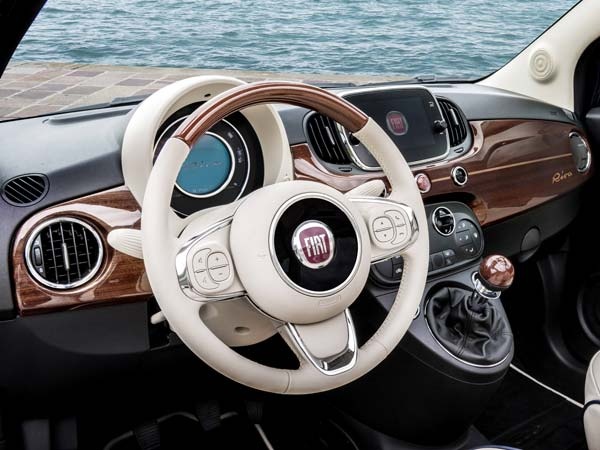 fiat announces special edition fiat 500 riva drivespark news. Black Bedroom Furniture Sets. Home Design Ideas
