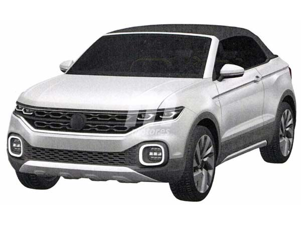 volkswagen convertible suv rumored drivespark news. Black Bedroom Furniture Sets. Home Design Ideas