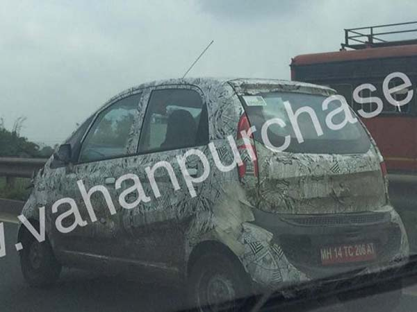New Tata Nano Spied With Heavy Camouflage