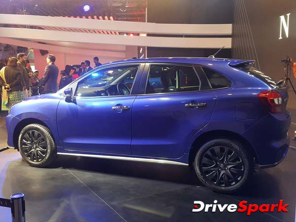 maruti suzuki baleno rs features drivespark news. Black Bedroom Furniture Sets. Home Design Ideas