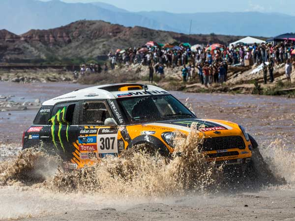 MINI ALL4 Racing Is All Geared Up For Oilibya Rally — A perfect Warm-Up For 2017 Dakar Rally