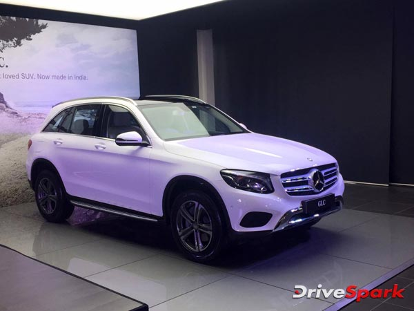 India Made Mercedes Benz GLC Launched For Rs 47.90 Lakh
