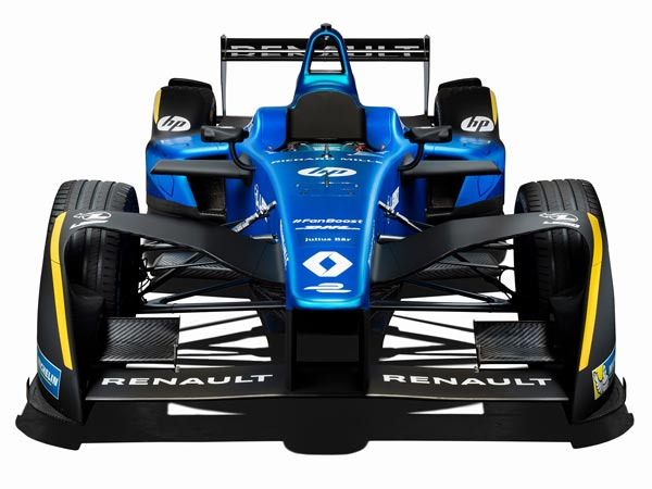 Renault Launches New Livery For 2016/17 FIA Formula E Championship
