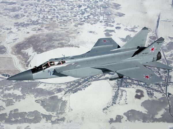 Mig 31bm Foxhound Supersonic Long Range Interceptor Fighter Jet