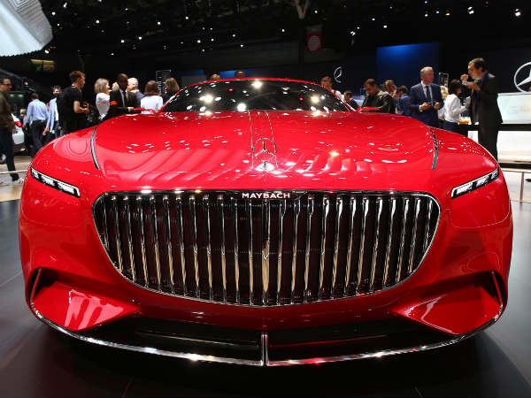 2016 Paris Motor Show: Vision Mercedes-Maybach 6 Concept Showcased