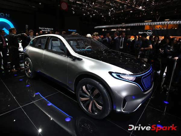 2016 Paris Motor Show: Mercedes-Benz Generation EQ Showcased