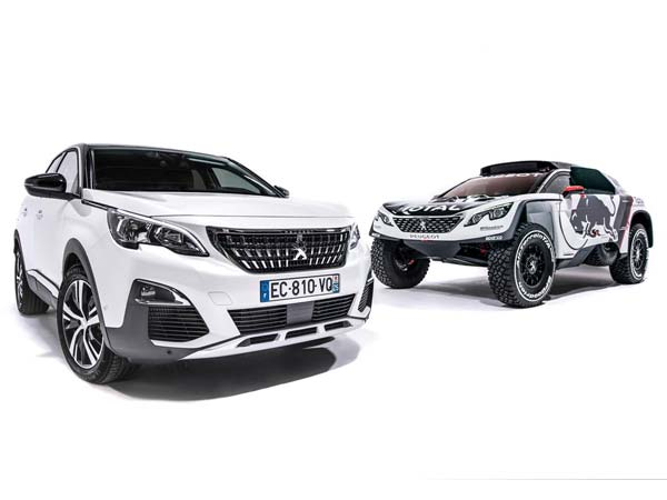 2016 Paris Motor Show: Peugeot Showcases 2017 Dakar Rally Machine