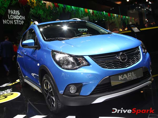 2016 Paris Motor Show: Vauxhall Reveals Viva Rocks