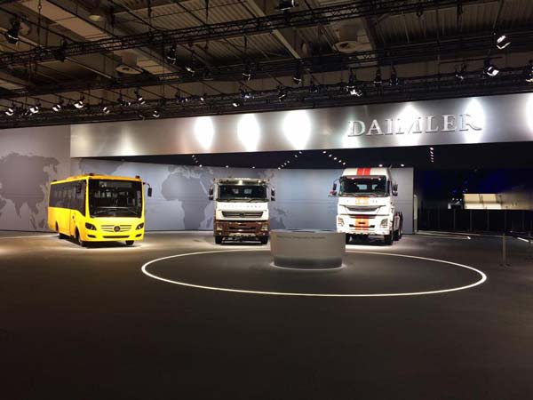 2016 IAA Hannover — Daimler Trucks Asia Showcases Its Technological Excellence