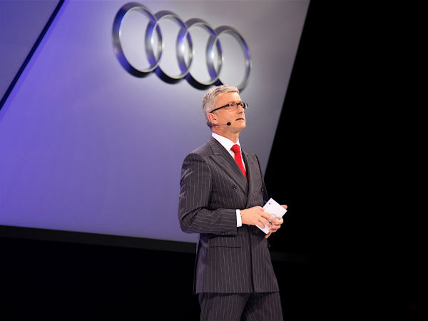 Audi CEO Cleared By Volkswagen Emissions Scandal Investigation