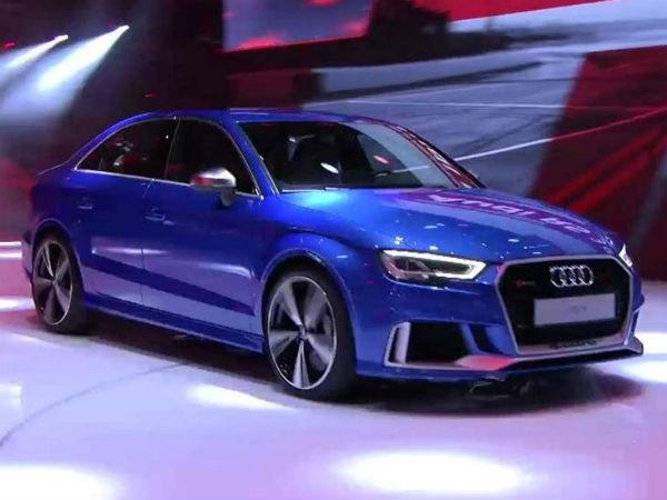 2016 Paris Motor Show: Audi RS3 Debuts In The City Of Love